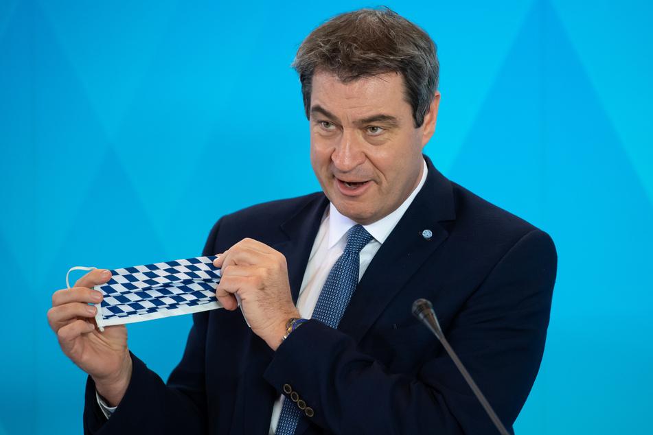 Der bayerische Ministerpräsident Markus Söder (53, CSU).