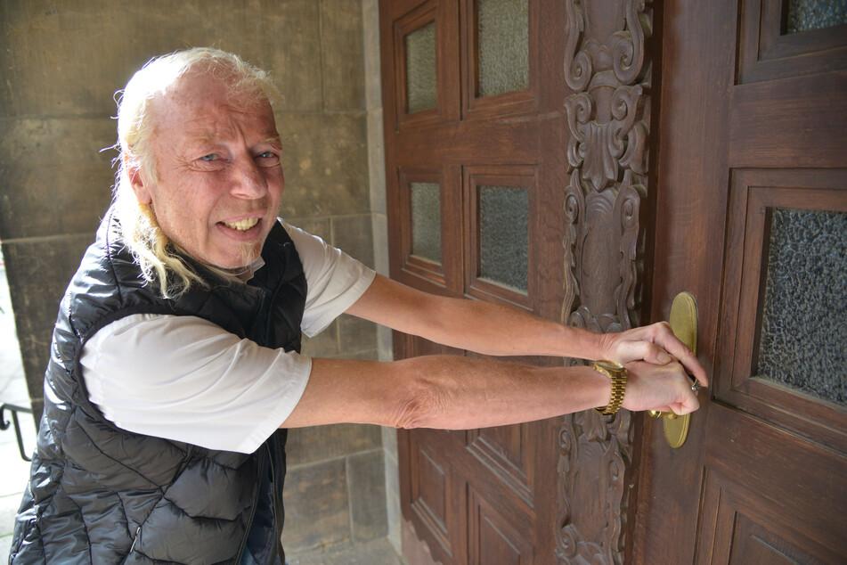 Er will ins Rathaus: Jens-Uwe Jahn alias DJ Geyer möchte seine Kandidatur zur Oberbürgermeisterwahl gerichtlich erzwingen.