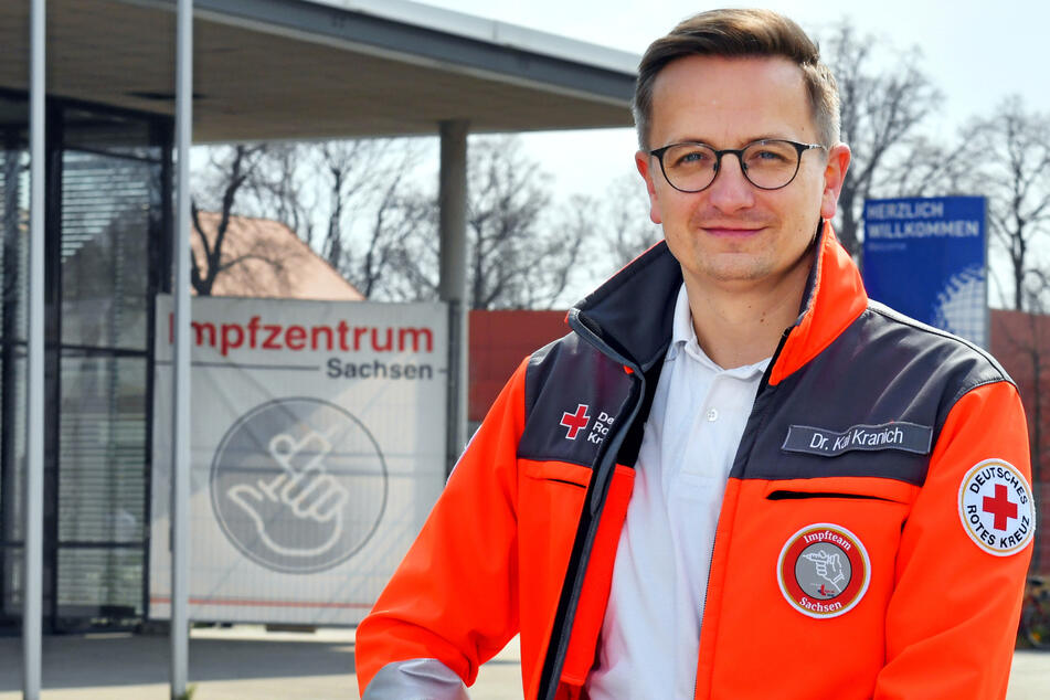 Kai Kranich, Sprecher des DRK Sachsen.