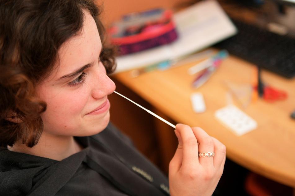 Schüler müssen in den ersten beiden Schulwochen zweimal wöchentlich testen.