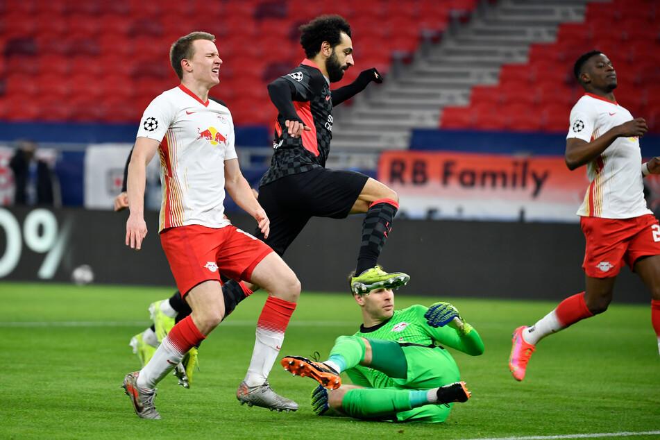 Das Hinspiel verloren die Leipziger aufgrund von zwei individuellen Fehlern in der Abwehr.