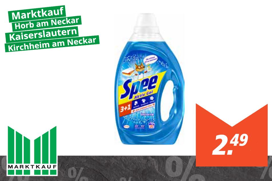 Spee Waschmittel für 2,49 Euro