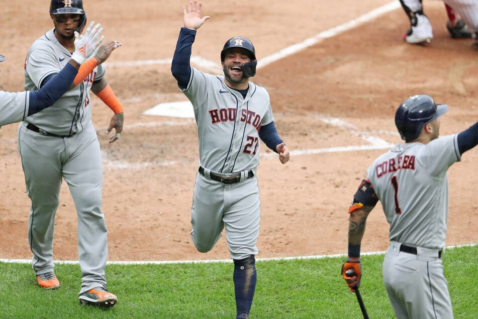 The Astros are on their way to the ALCS for the fifth-straight time after beating the White Sox on Tuesday.
