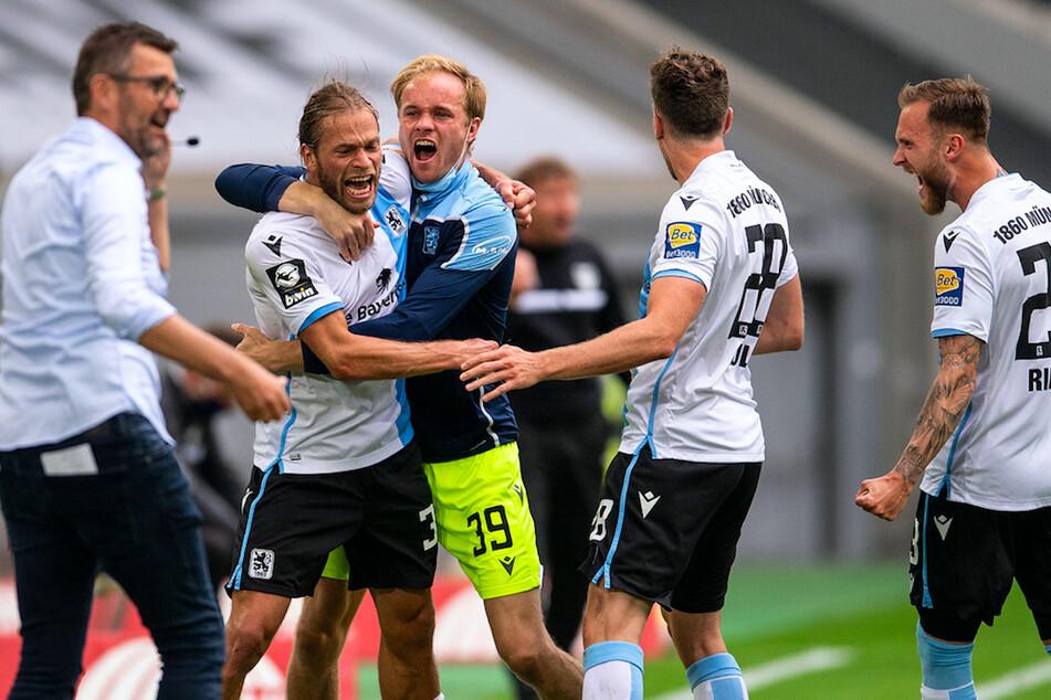 Die Münchner Löwen sind heiss auf den DFB-Pokal.