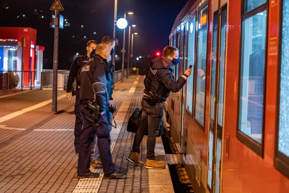 Schüsse auf Regionalbahn: Mordkommission ermittelt