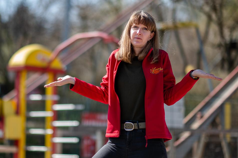 Wünscht sich endlich klare Ansagen: Sonnenlandpark-Sprecherin Anita Müller (38).