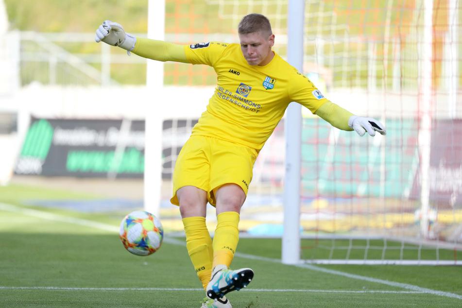 Jakub Jakubov ist auch in der neuen Saison die klare Nummer 1 der Himmelblauen.