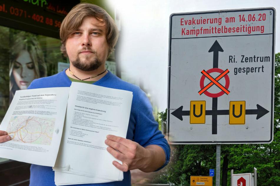 Chemnitz: Größte Evakuierung seit dem Krieg: So bereitet sich Chemnitz auf den Ernstfall vor