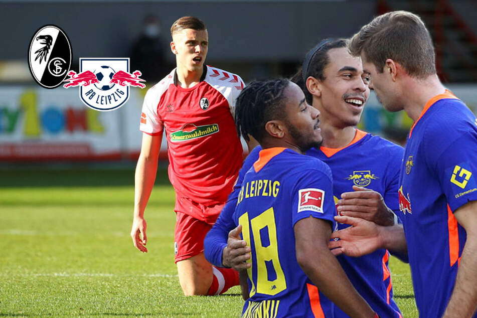 RB Leipzig bezwingt Angstgegner SC Freiburg deutlich und schnappt sich Platz 1