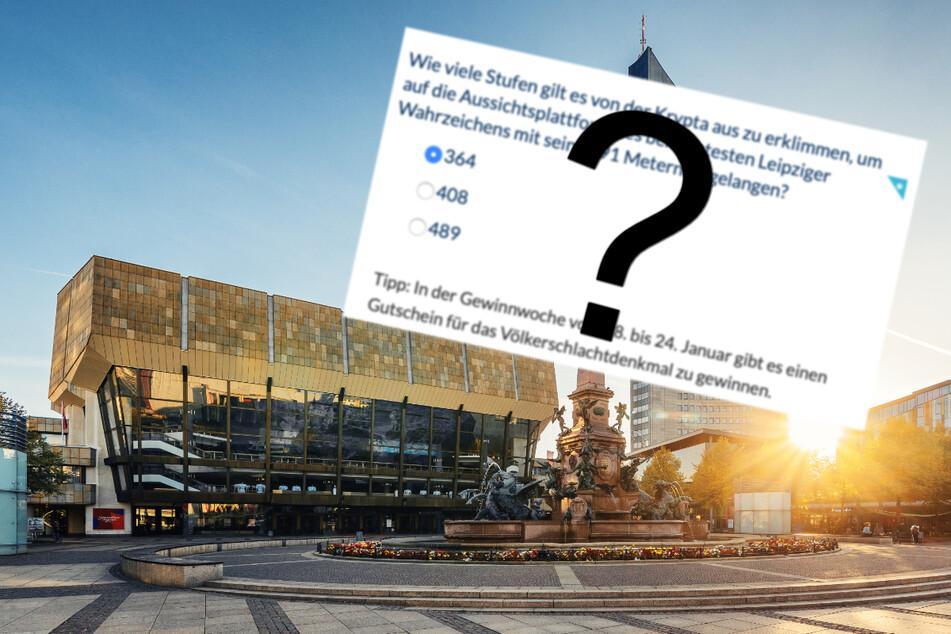 Beantwortet diese Frage und gewinnt eine von 40 Reisen nach Leipzig!