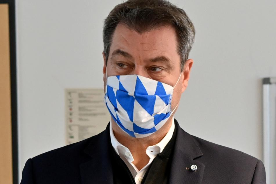 Bayerns Ministerpräsident Markus Söder (53, CSU).