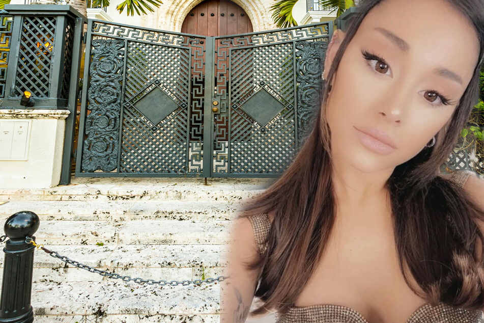 Stalker demands access to Ariana Grande's house with a knife