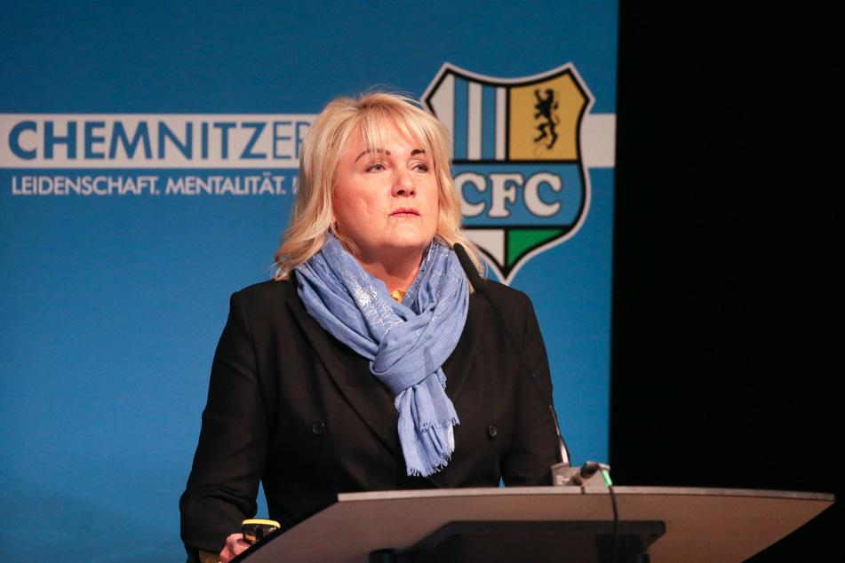 CFC-Vorstandsvorsitzende Romy Polster bestätigte, dass der Chemnitzer FC für alle Profispieler und Mitarbeiter das Kurzarbeitergeld beantragt hat (Archivbild).