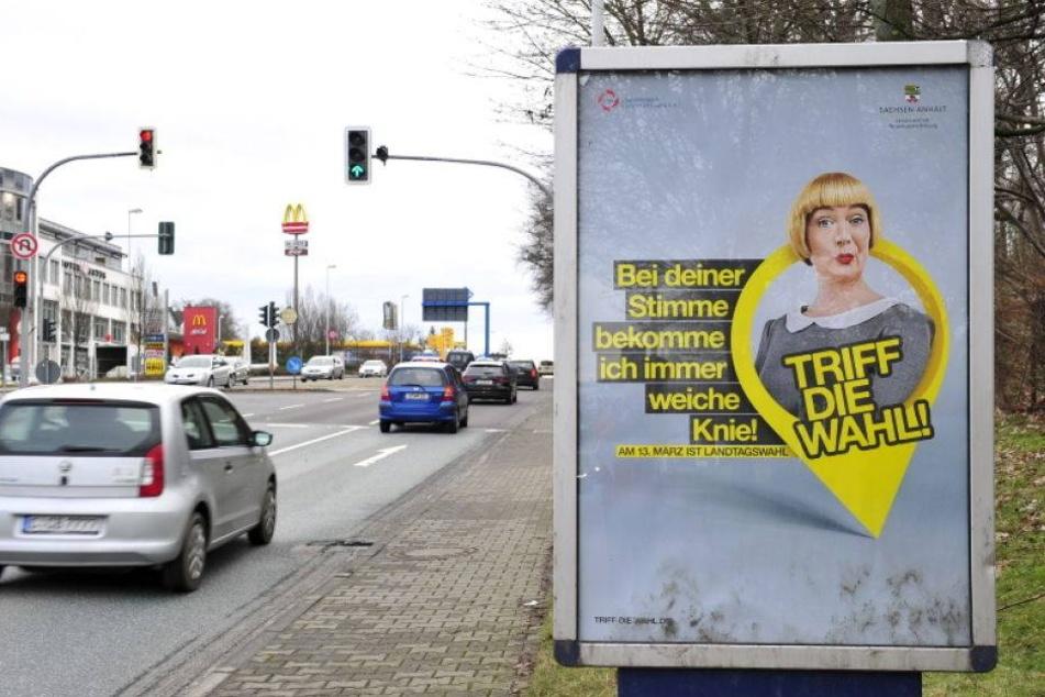 Was soll das denn? Sachsen-Anhalt macht Wahlkampf in Chemnitz