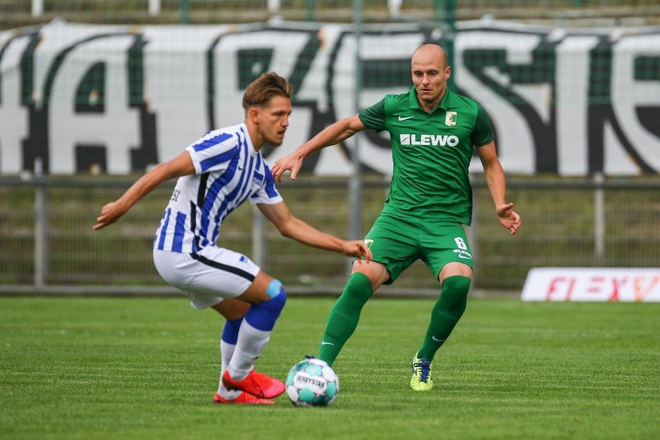 Nachdem sie sich in der ersten Halbzeit aufs Verteidigen konzentrierten, machten sie in der zweiten sogar das Spiel und übten Druck auf Hertha aus.