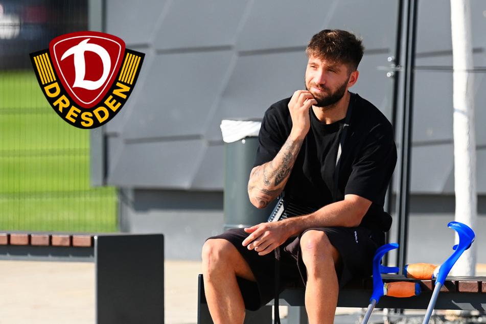 """""""Komische Geschichte"""": Dynamo-Angreifer Borrello muss sich weiter in Geduld üben"""