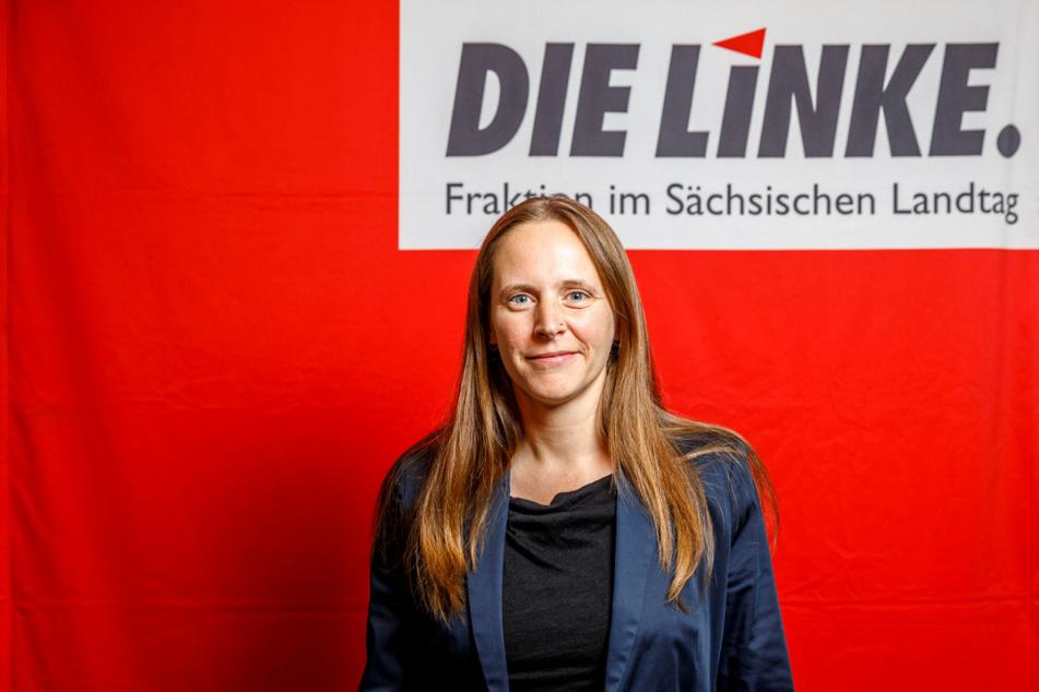 Sarah Buddeberg (38) von Die Linke findet es nicht vermittelbar, dass sich die Abgeordneten in der Corona-Pandemie mehr Geld genehmigt,