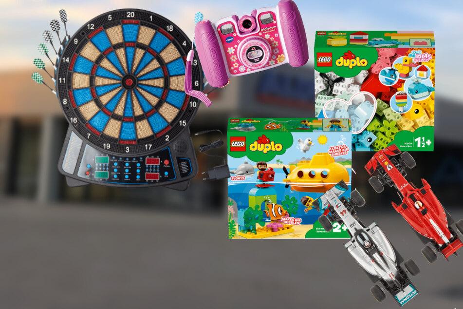 Die ALDI-Regale sind ab Montag (30.11.) mit günstigen Kinderspielsachen gefüllt!
