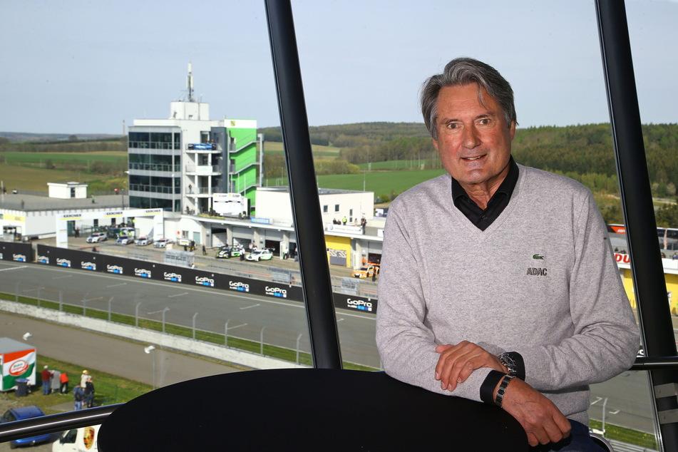 Hat es geschafft, den Sachsenring bis 2026 im WM-Kalender zu halten: Ex-ADAC-Sportchef Hermann Tomczyk.
