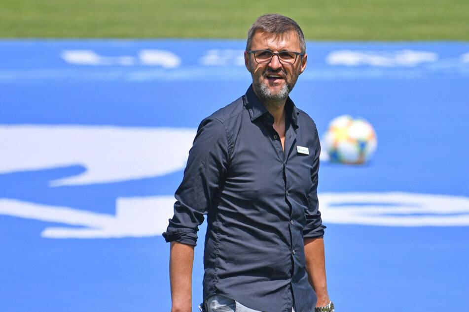 Hat sich das Ganze sicher anders erhofft: Löwen-Trainer Michael Köllner. (Archiv)