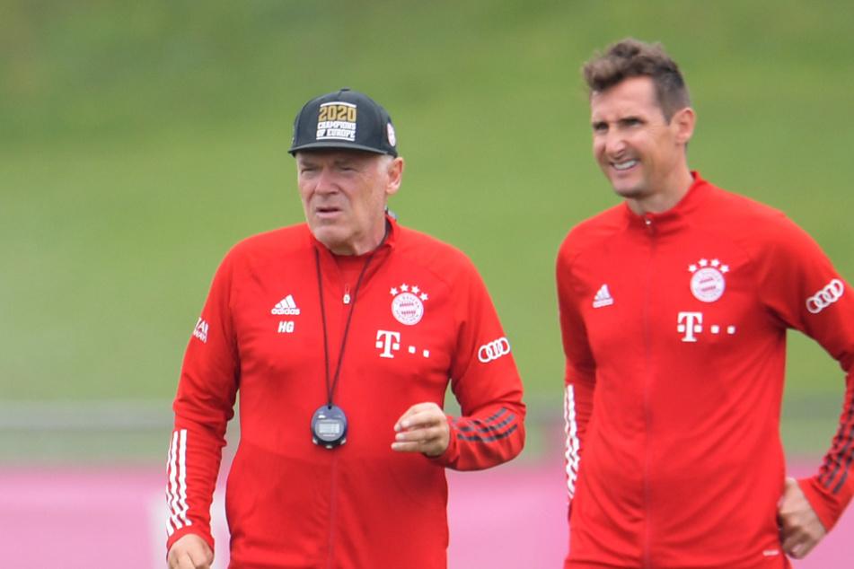 Miroslav Klose (42, r.) und Hermann Gerland (66) werden den FC Bayern verlassen.