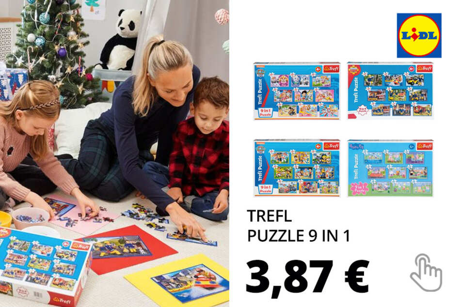 TREFL Puzzle 9 in 1