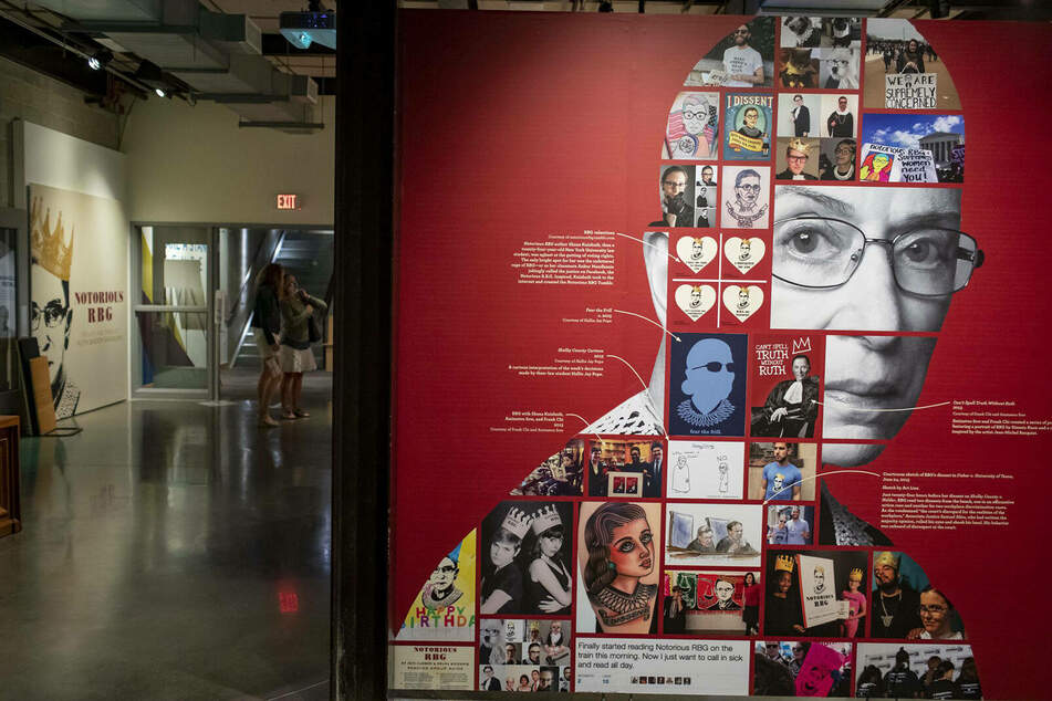 Notorious RBG: New York museum pays tribute to Judge Ruth Bader Ginsburg