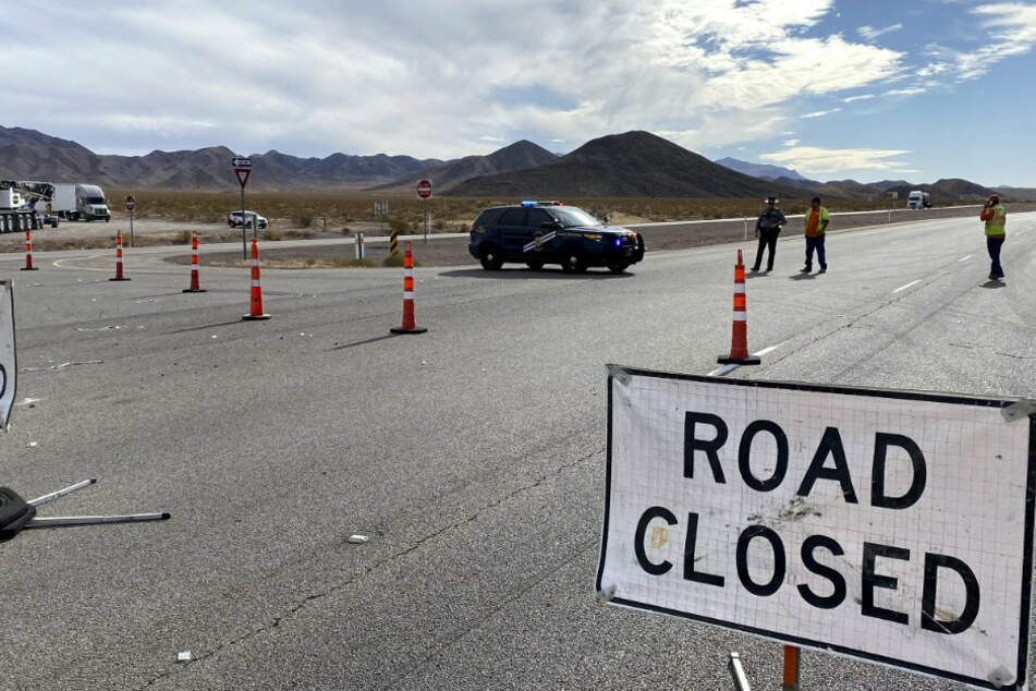 Horror-Unfall nahe Las Vegas: Lastwagen fährt in Radlergruppe, mehrere Tote