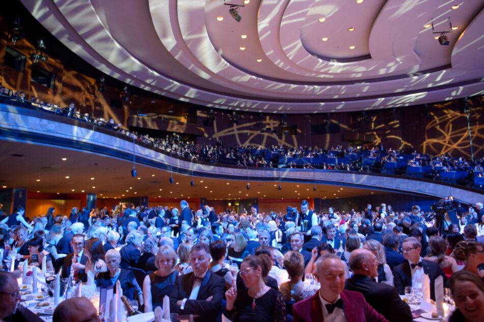 Die Liederhalle fasst rund 6000 Menschen.