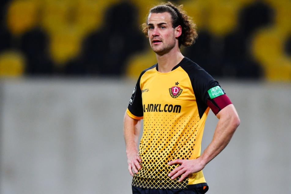 0:3 im Pokal gegen seinen Ex-Verein SV Darmstadt 98 - das hatte sich Dynamos Vizekapitän Yannick Stark (30) ganz anders vorgestellt.