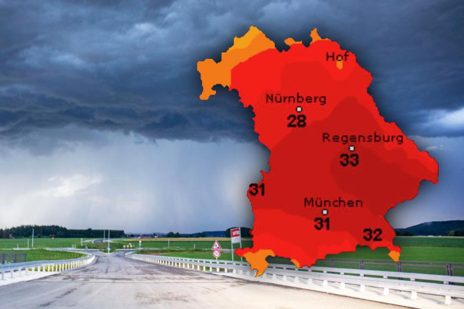 Es kann krachen! So wird das Wetter in Bayern am Wochenende