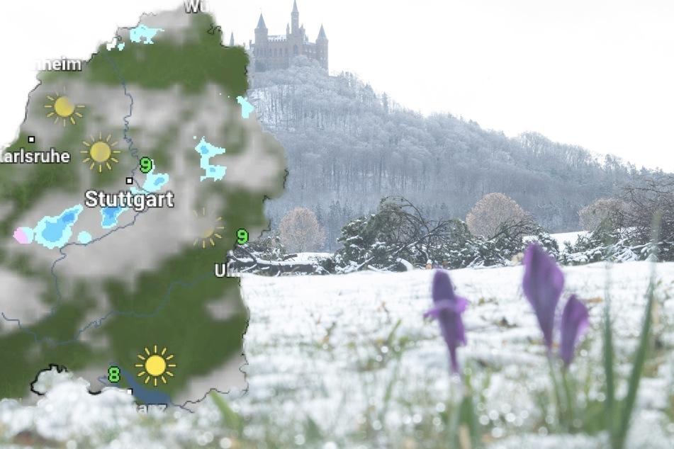 In höheren Lagen soll der Regen in Schnee übergehen.
