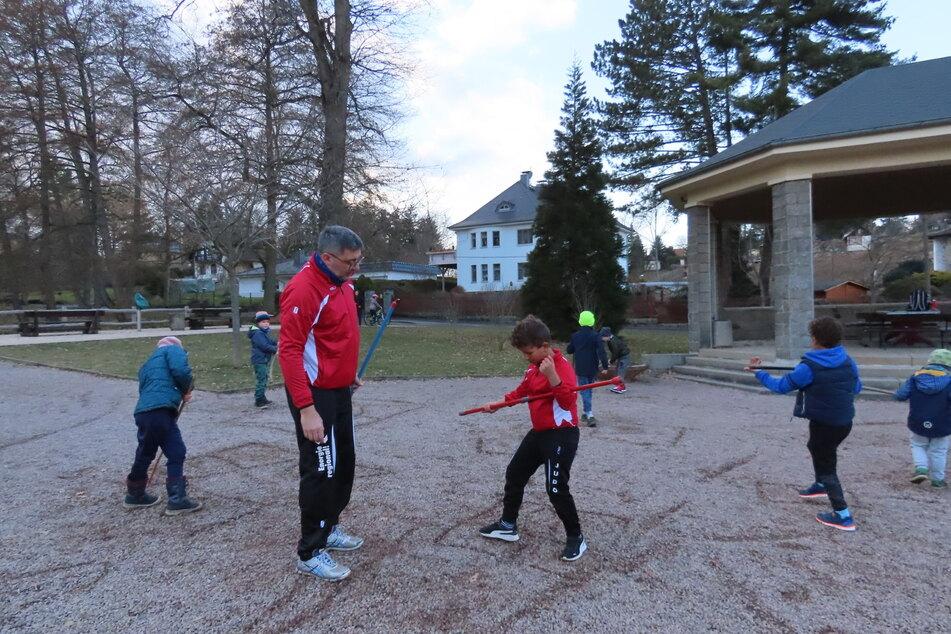 Lockdown vorbei: Judoka trainieren jetzt Open-Air