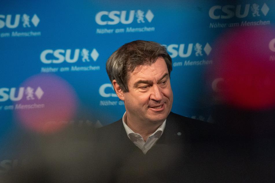 Markus Söder (54), CSU-Parteivorsitzender, verteidigt die Idee von staatlichen Eingriffe in die Impfstoffproduktion.