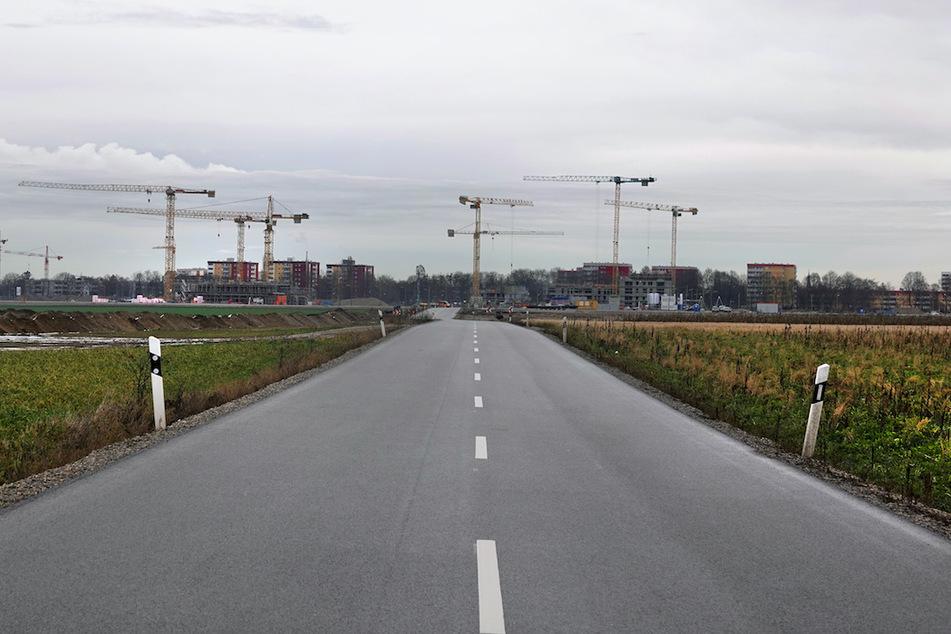 Der Bauboom beschleunigt den Flächenverbrauch in Bayern.