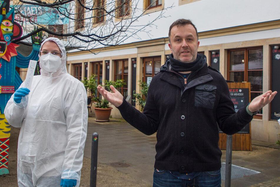Dresden: Immer mehr Dresdner Wirte servieren auch Corona-Tests