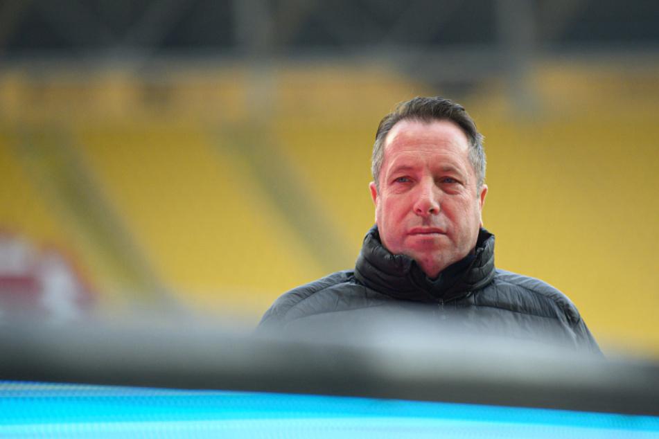 Dynamo-Trainer Markus Kauczinski (50).