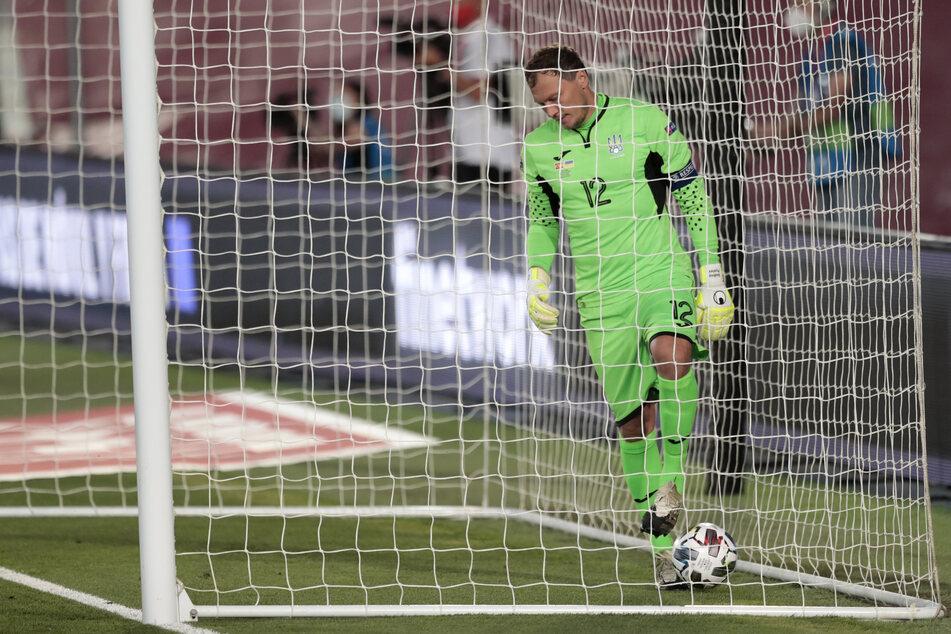 Der ukrainische Nationaltorwart Andriy Pyatov (36) wird die kommenden Länderspiele verpassen.