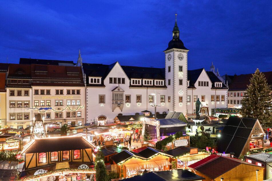 Auf dem Freiberger Christmarkt soll Schmiergeld geflossen sein.