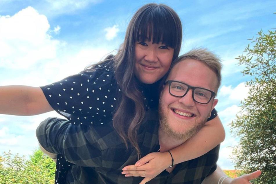 Jan-Marten und Freundin Jasmin verliebt und glücklich auf Instagram