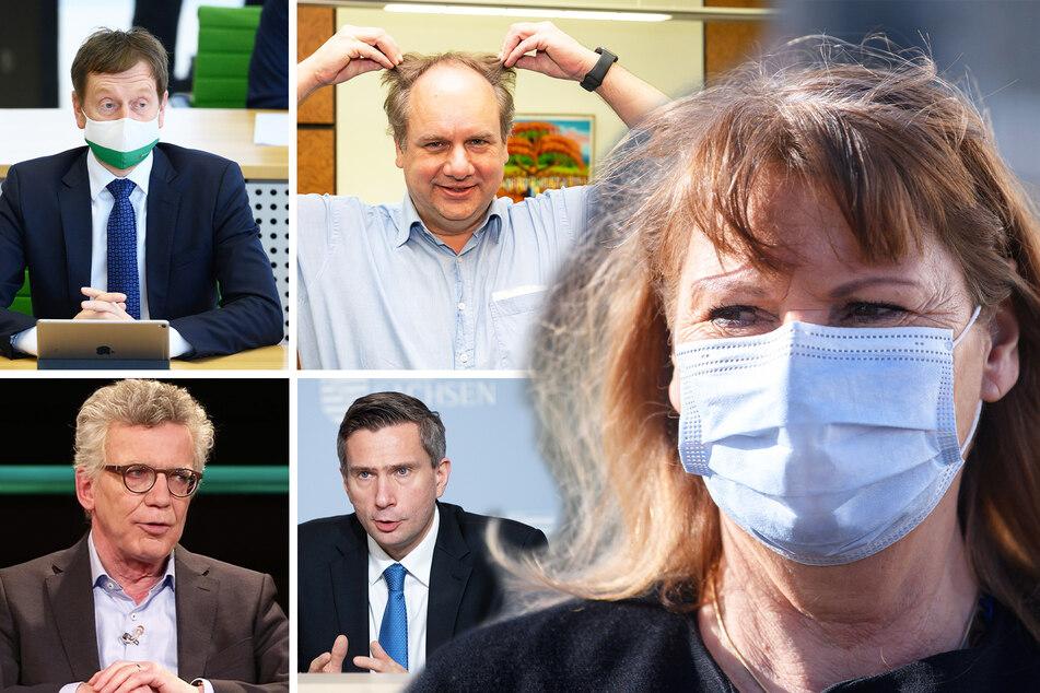 Sachsens Spitzenpolitiker warten auf Friseurtermine: Huch, wie seht Ihr denn aus?!