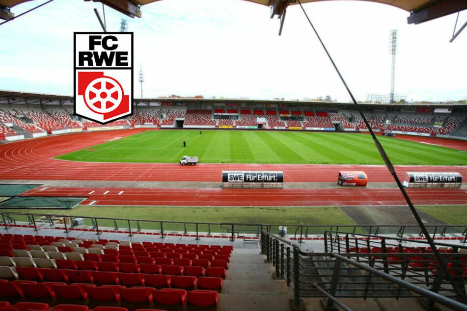 Aus der Insolvenz: Rot-Weiß Erfurt kann für Oberliga planen