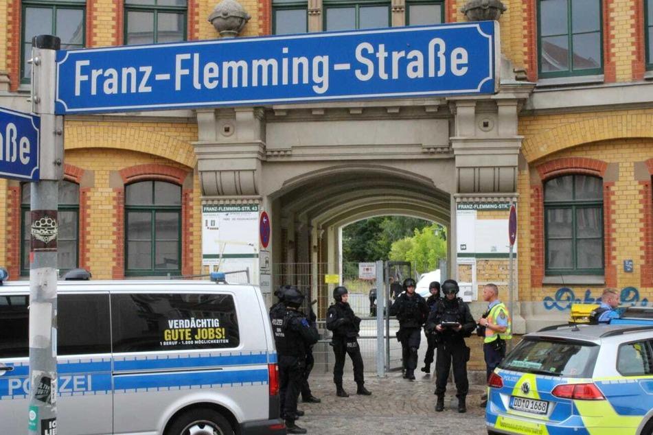 Anwohner der Ernst-Flemming-Straße hatten eine besorgniserregenden Beobachtung gemacht.