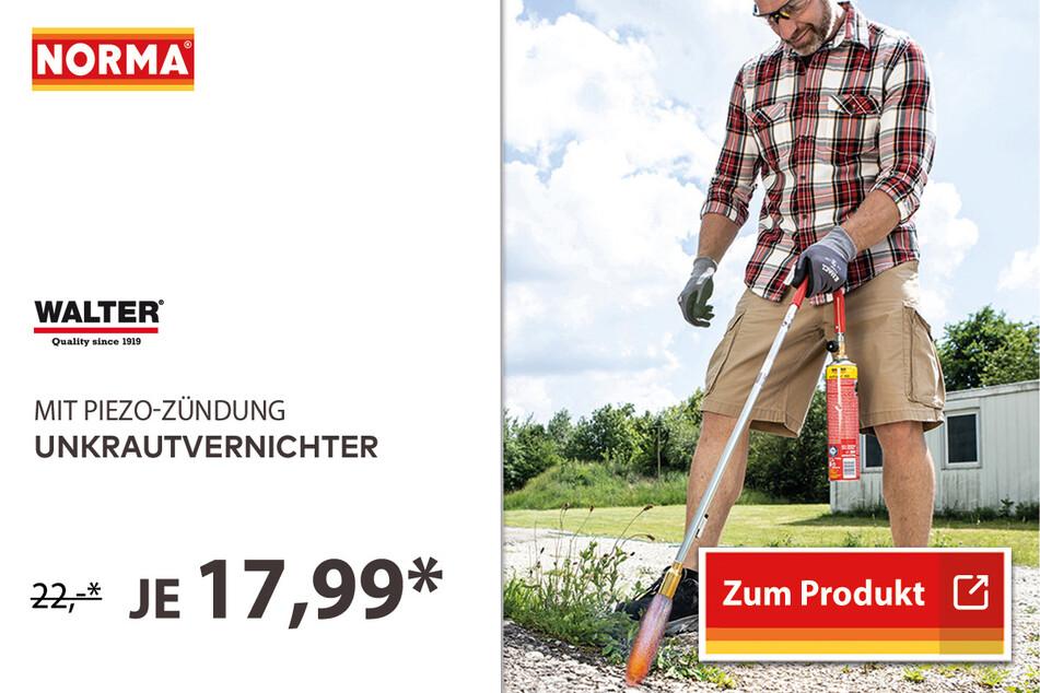 Unkrautvernichter für 17,99 Euro