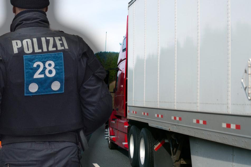 Nackte Wut! Lkw-Fahrer sorgt für Chaos auf der A7 und packt plötzlich seinen Hintern aus