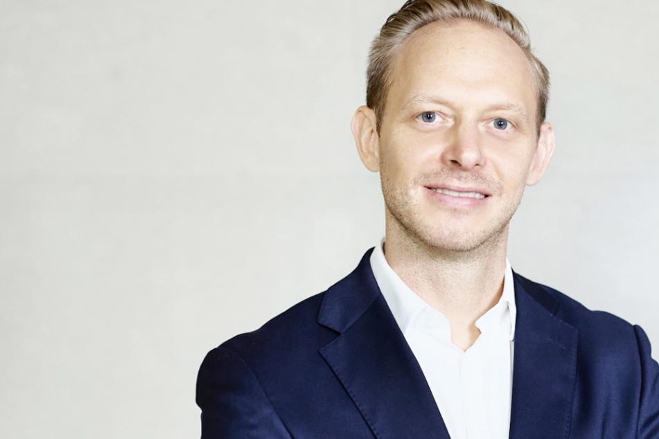 Er wird der neue Marketingvorstand beim VfB: Rouven Kasper (39).