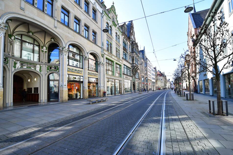 Am Anger in Erfurt wird ab 18. Juli gebaut. (Symbolbild)