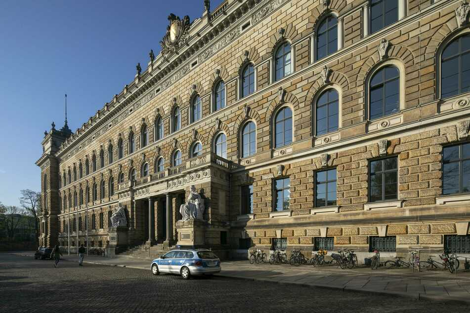 Auch im Landgericht Dresden wird weiter verhandelt.
