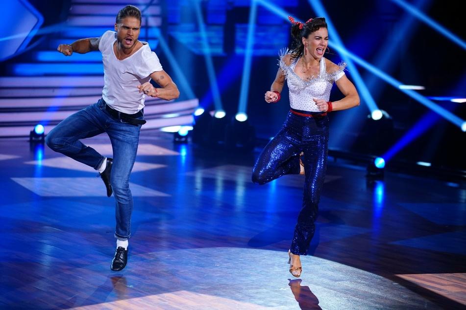 Der schnelle Jive von Rúrik Gíslason (33) und Tanzpartnerin Renata Lusin (33) überzeugte die Jury.