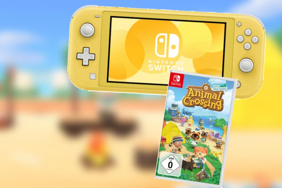 Reif für die Insel? Dann holt Euch jetzt die Switch Lite mit Animal Crossing!